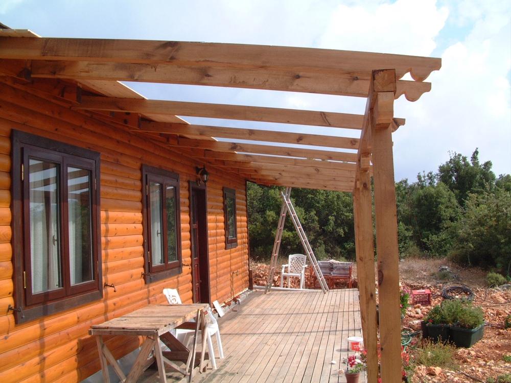 Veranda roof 2
